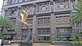 De Architectuur van Singapore Stock Foto