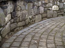 De architectuur van stenen Royalty-vrije Stock Afbeeldingen