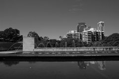 De architectuur van Sydney Stock Afbeeldingen