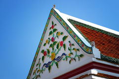 De Architectuur van Thailand royalty-vrije stock foto