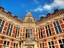 De architectuur van Utrecht Stock Foto