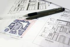 De architectuur van Vastu Royalty-vrije Stock Afbeeldingen
