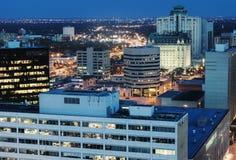 De architectuur van Winnipeg stock foto