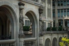 De architectuur van Zürich Royalty-vrije Stock Afbeelding