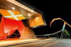 De Architectuurart. van Canberra stock fotografie