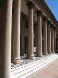 De architectuurcol. van Neoclassicism stock foto's