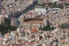 De Arena van Alicante Stock Afbeeldingen