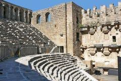 De Arena van Aspendos stock afbeelding