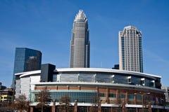 De Arena van Charlotte Bobcats in Charlotte Royalty-vrije Stock Afbeeldingen