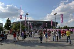 De Arena van Donbass van het stadion Stock Fotografie