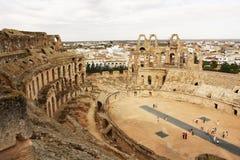 De Arena van Gr Jem - Tunesië Royalty-vrije Stock Foto