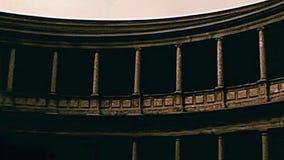 De arena van Granada Alhambra stock videobeelden