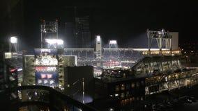 De arena van het Petcopark in San Diego stock footage