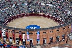 De Arena van het stieregevecht in Bogota Colombia Stock Foto