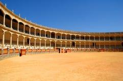 De arena van het stieregevecht in Spanje Royalty-vrije Stock Foto's