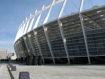 De arena van het voetbal in Kiev stock afbeelding