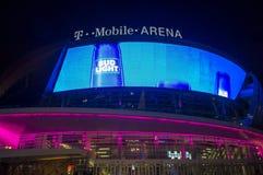 De arena van Las Vegas T-Mobile Royalty-vrije Stock Foto