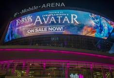 De arena van Las Vegas T-Mobile Royalty-vrije Stock Afbeelding