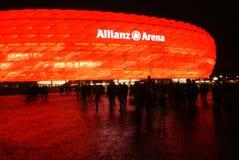 De Arena van München Allianz Stock Afbeeldingen
