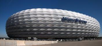 De Arena van München Allianz - een mening van het zuiden. royalty-vrije stock afbeeldingen