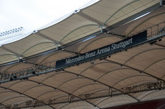 De Arena van Mercedes-Benz, Stuttgart Stock Fotografie
