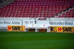 De Arena van Mercedes-Benz, Stuttgart Stock Foto