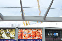 De arena van O2 Stock Foto