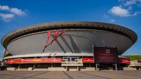 De Arena van sporthalspodek Royalty-vrije Stock Afbeelding