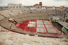 De Arena van Verona Stock Afbeeldingen