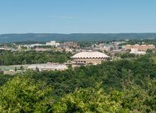 De Arena van WVU Coliseum in Morgantown royalty-vrije stock foto