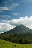 Arenal vulkaan in Costa Rica Royalty-vrije Stock Afbeeldingen