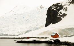 De Argentijnse Post van het Onderzoek - de Zuidpool Royalty-vrije Stock Fotografie
