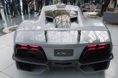 De aria FXE op vertoning tijdens La Auto toont Stock Afbeeldingen