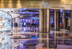 De Aria van Las Vegas Stock Afbeelding