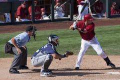 Het Spel van de Opleiding van de Lente van de Liga van de Cactus MLB Royalty-vrije Stock Afbeelding