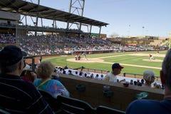 Het Spel van de Opleiding van de Lente van de Liga van de Cactus MLB Royalty-vrije Stock Fotografie