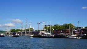 De Armada, Rouen, 2019, Frankrijk stock fotografie
