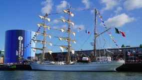 De Armada, Rouen, 2019, Frankrijk royalty-vrije stock afbeelding