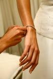 De Armband van de diamant stock afbeeldingen