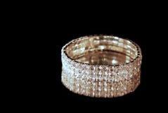 De armband van de diamant Stock Afbeelding