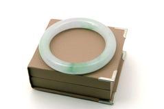 De armband van de jade royalty-vrije stock afbeeldingen
