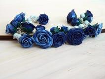 De armband van de polymeerklei met rozen Royalty-vrije Stock Foto