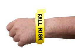 De Armband van het Risico van de daling Royalty-vrije Stock Fotografie