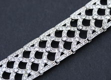 De armband van juwelen Stock Foto's