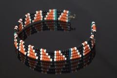De armband van Maasai stock foto's