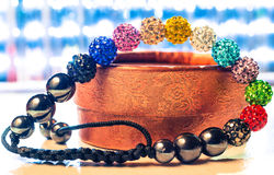De armband van Shamballa Stock Fotografie