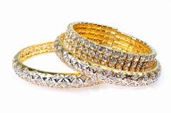 De armbanden van de diamant Stock Foto