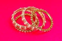De armbanden van de diamant stock foto's