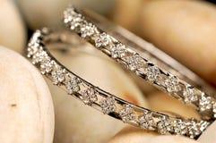 De armbanden van de diamant royalty-vrije stock foto