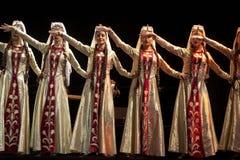 De Armeense Pedagogische Universitaire dansers van de Staat Royalty-vrije Stock Foto's